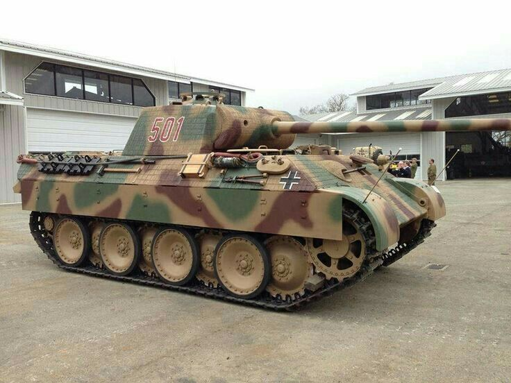 The Restored panther Ausf A, at the littlefield collection ...