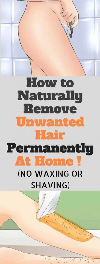 How To Naturally Remove Unwanted Hair Permanently At Home!!!  #beautytips  #fitness