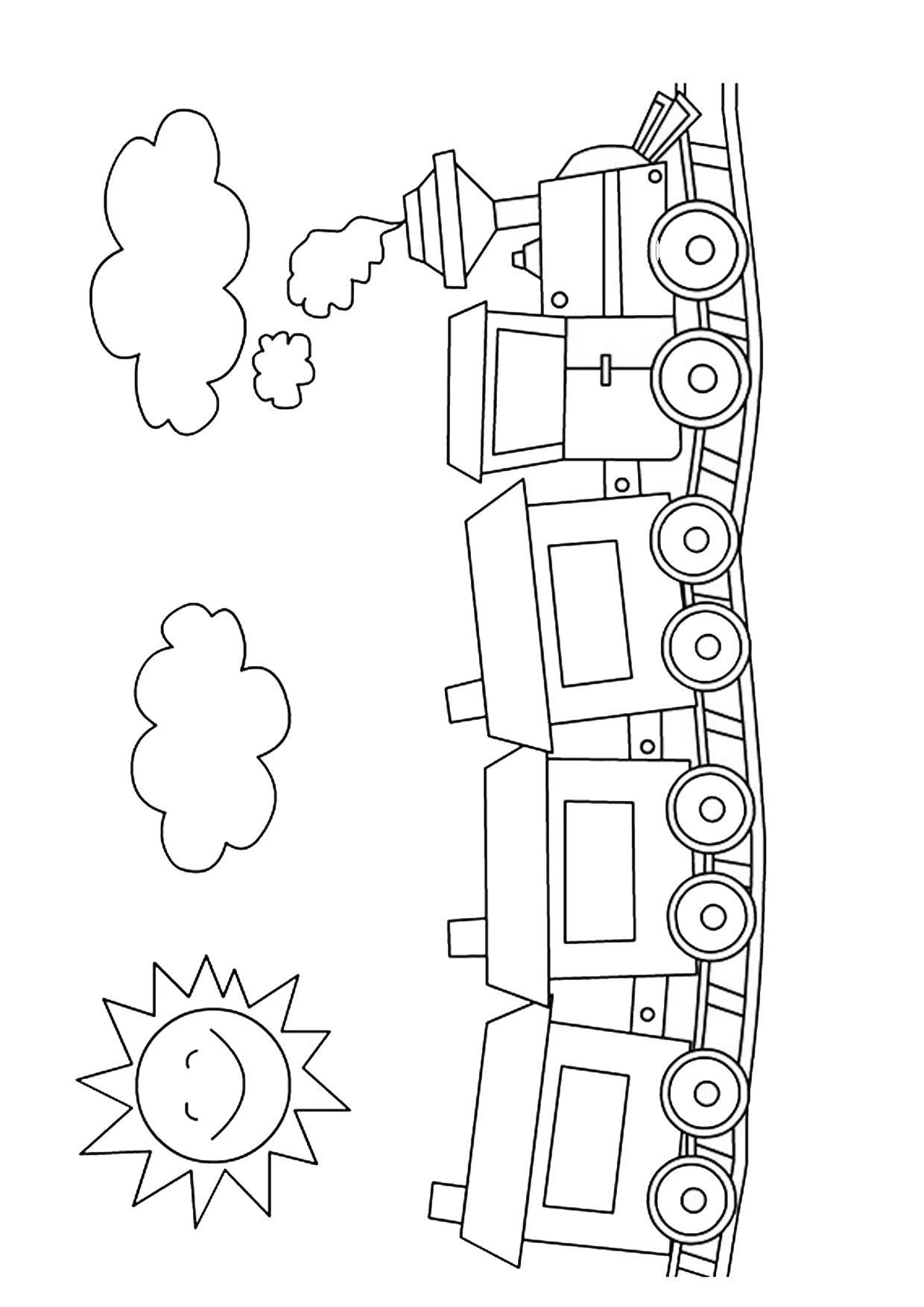 45 Disegni Di Treni Da Colorare Leone Diagram E Floor Plans