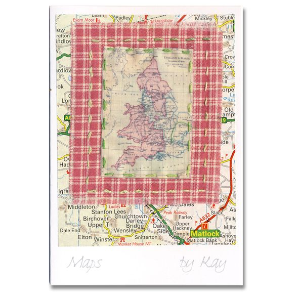 Luxury textile greeting card maps a paradisterrestre luxury textile greeting card maps a paradisterrestre m4hsunfo