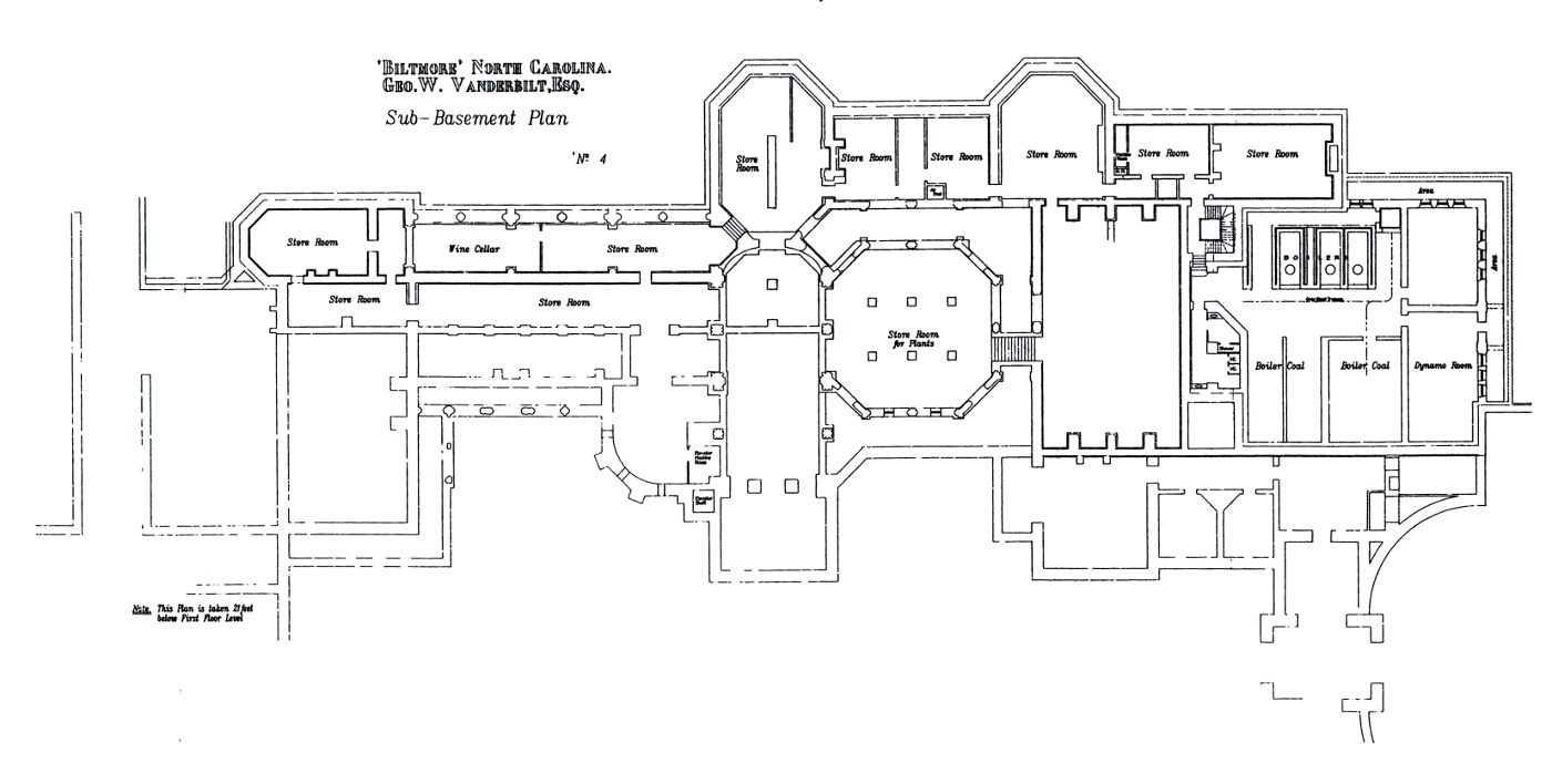 Biltmore House Sub Bat Floorplan