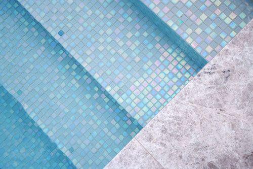green mosaic tiles pool waterline - Google Search   Home   Pinterest ...