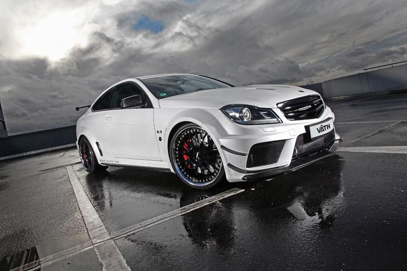 mercedes benz c63 amg coupe black series vth - Mercedes Benz C63 Amg Black Series White