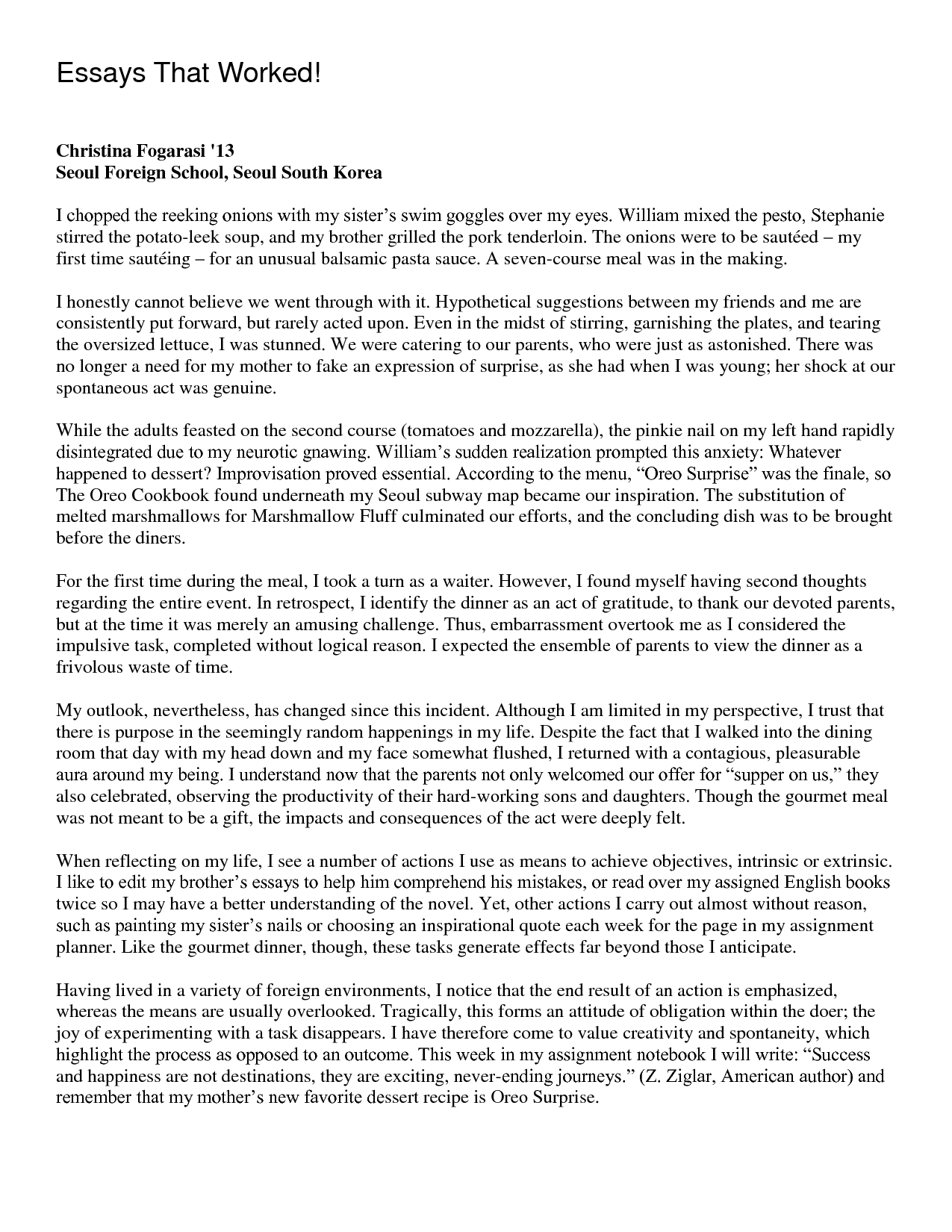 private high school admission essay examples Archives - Current School News : Current School News