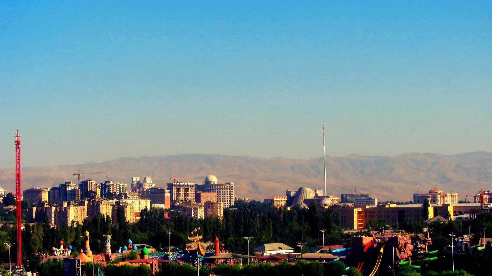 Tajikistan Dushanbe Dushanbe Tajikistan San Francisco Skyline