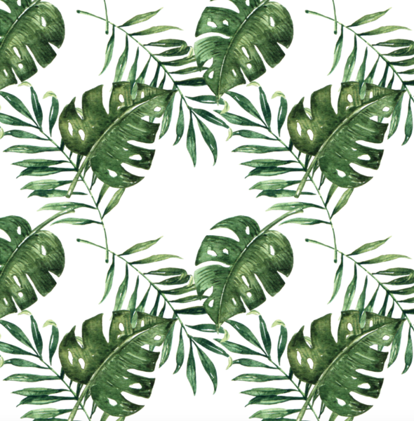 Tropical wallpaper from RockyMountainDecals is made from