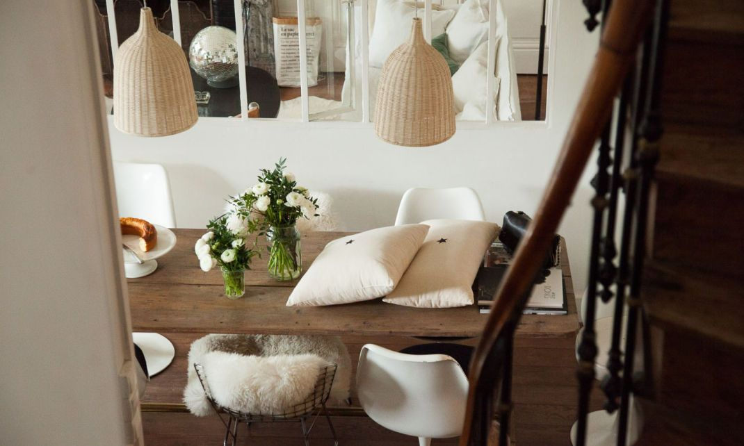 Florence Bouvier and Justine, 17 years old Interiors, Spaces and