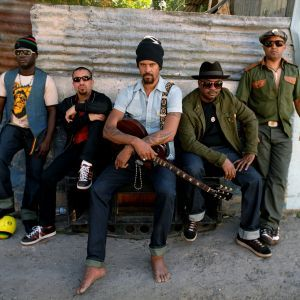 Michael Franti is the sound of sunshine, and sand, and good times. Fun reggae infused songs will keep you in a good mood all day.