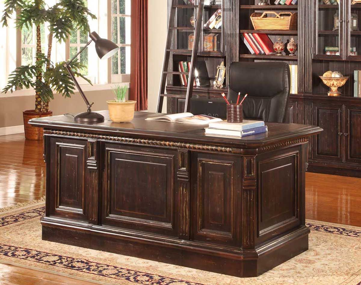 Parker House Venezia Double Pedestal Executive Desk Home