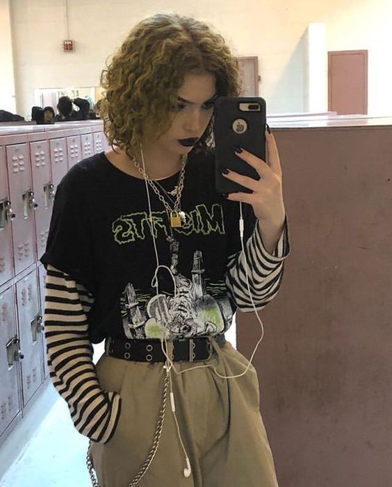 edgy outfit idea