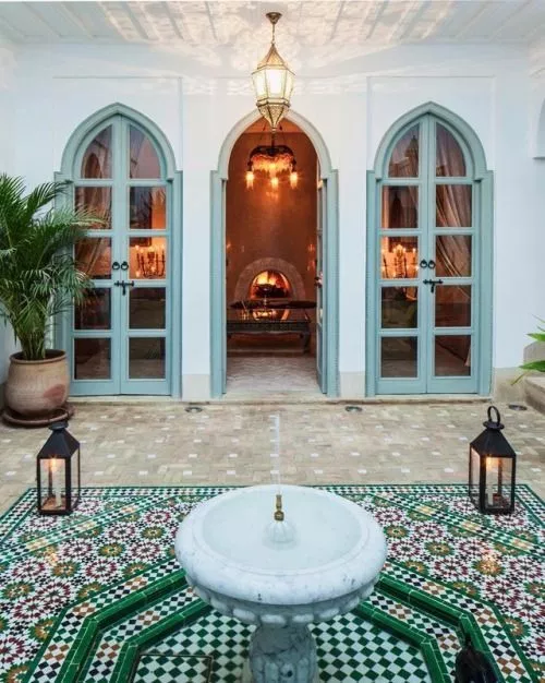 Photo of 24 Magnificent Moroccan Riad Courtyards – Rover at Home