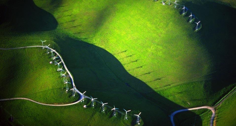 Bing Image Archive: Wind turbines near Livermore, California (© SIME/eStock Photo)(Bing United States)