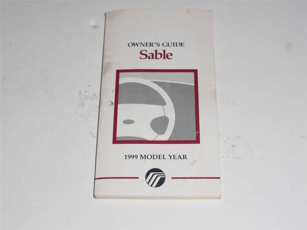 1999 mercury sable owners manual book owners manuals pinterest rh pinterest com 1998 Mercury Sable free 1999 mercury sable repair manual