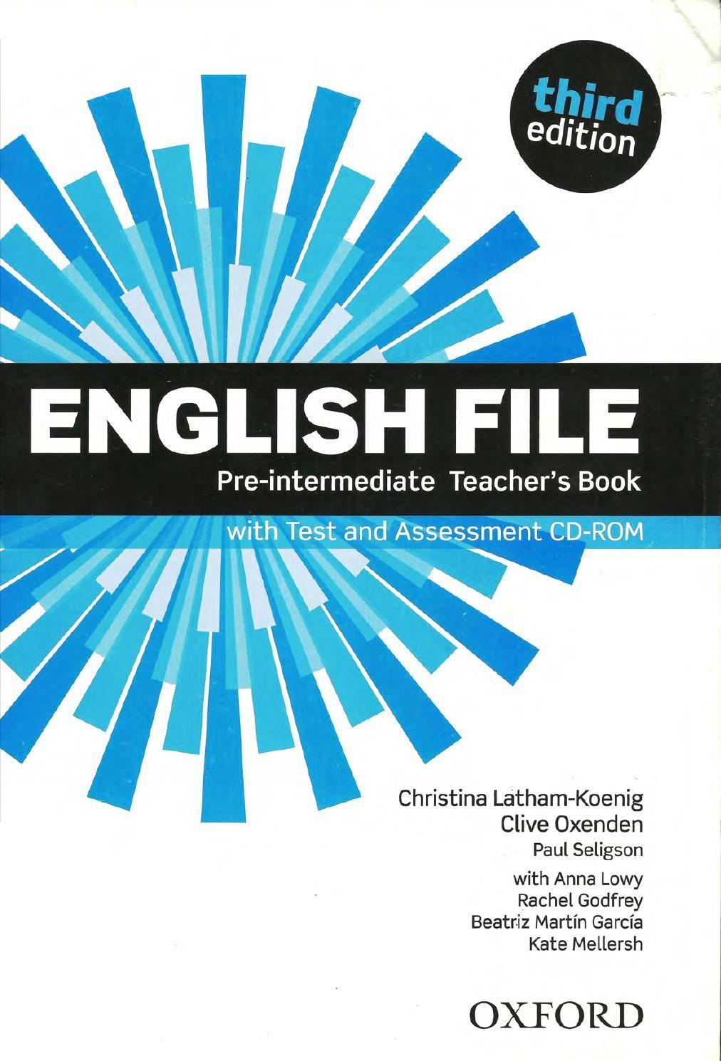 English File Pre Intermediate Teacher S Book Maestra Libro