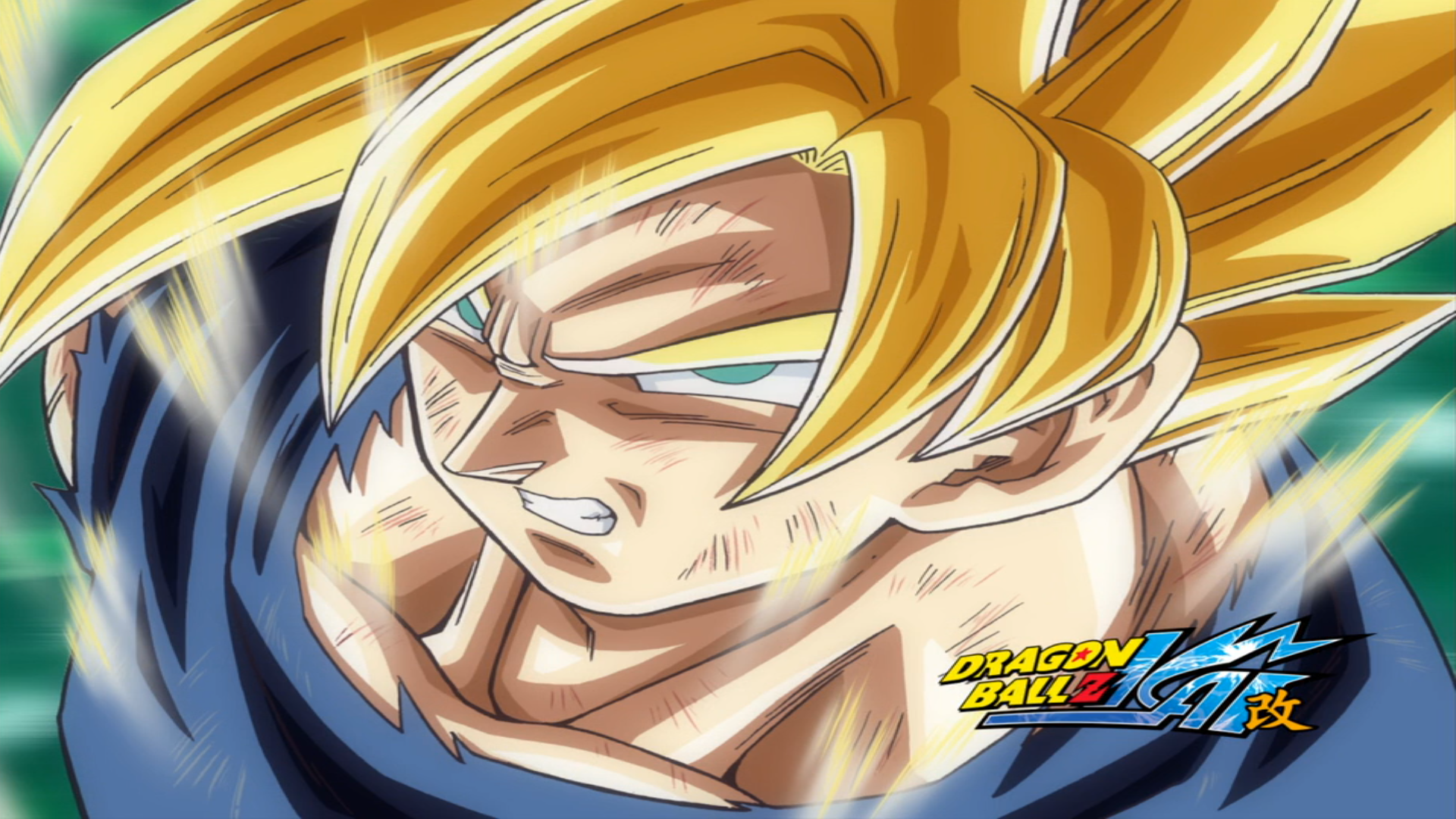 Dragon Ball Z KAI Goku Super Saiyan Wallpaper (con