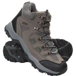 Photo of Adventurer Waterproof Men's Boots – Khaki Mountain WarehouseMountain Warehouse