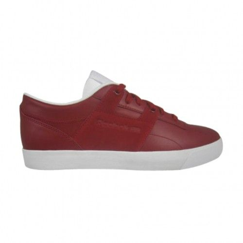 Reebok Workout Low Clean FVS Mens Casual Shoe M42859 Red-White