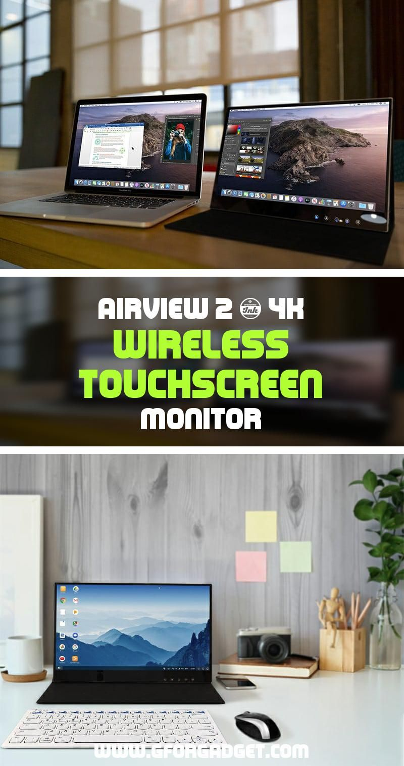 AirView 2 - This Wireless Touch Monitor Supports 4K Streaming