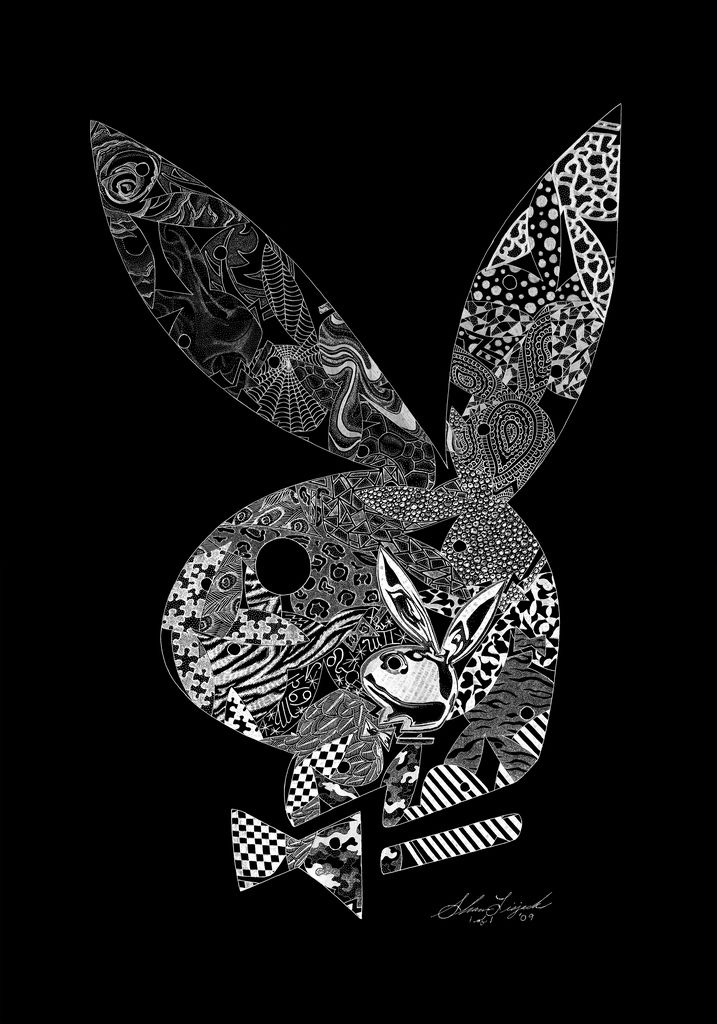 Playboy bunny logo hand engraving by artist shawn lisjack exotic playboy bunny logo hand engraving by artist shawn lisja flickr voltagebd Choice Image