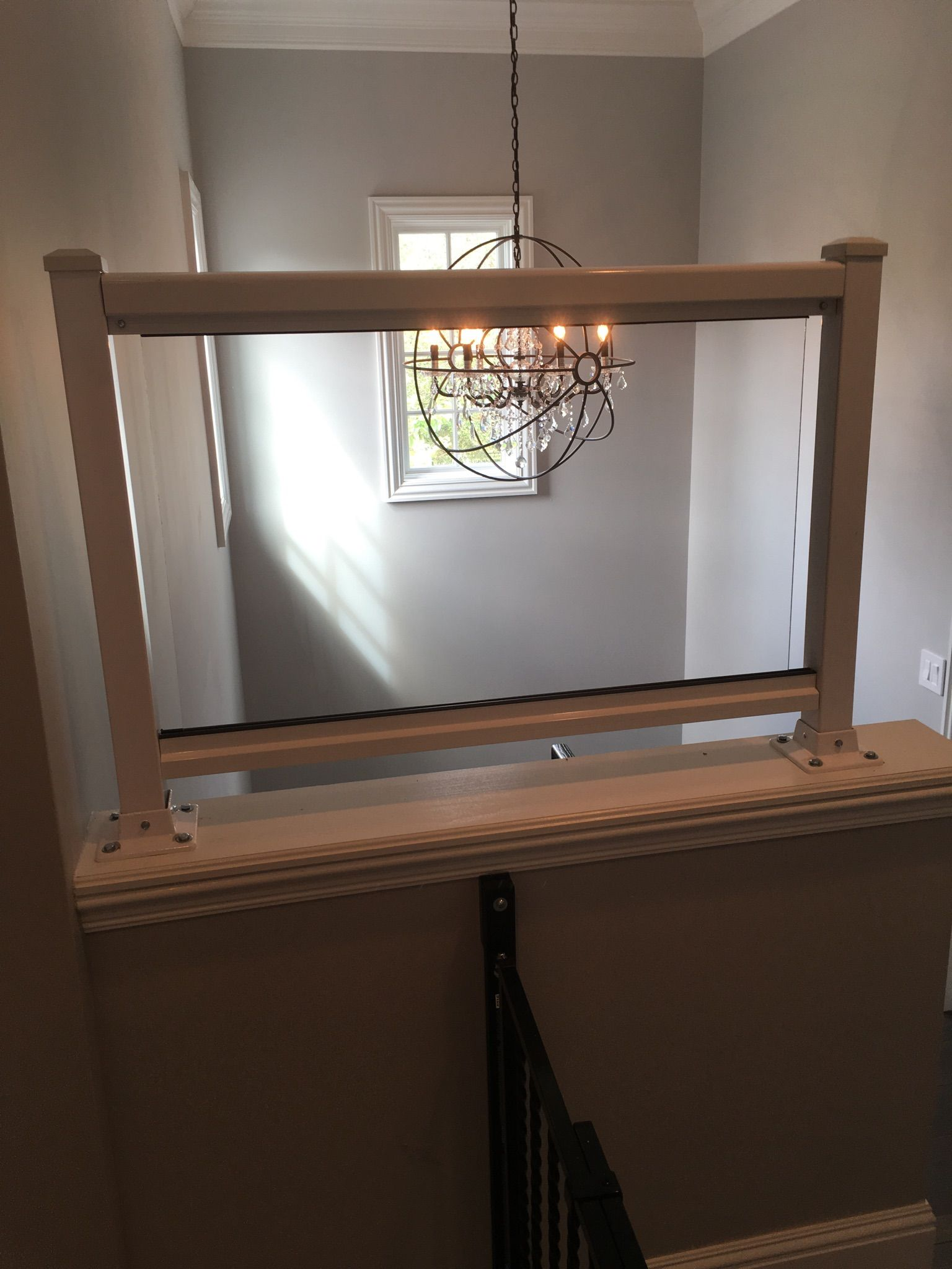 Our custom plexiglass walls are easy to install and can be
