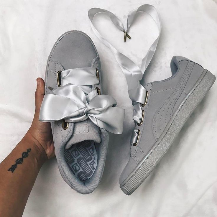599b015a7be Trendy Sneakers 2017/ 2018 : Sneakers women Puma Heart grey suede  (actually_ashly)