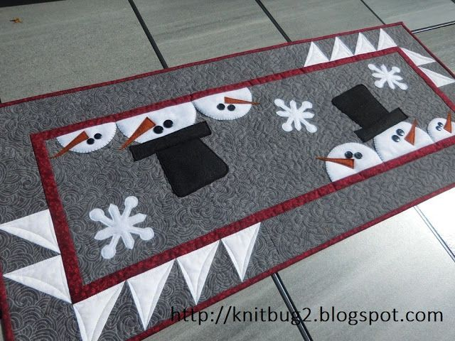 Vicki S Crafts And Quilting It S My Day 12 Days Of Christmas In July Pattern Rele Quilted Table Runners Patterns Table Runner Pattern Christmas Table Runner