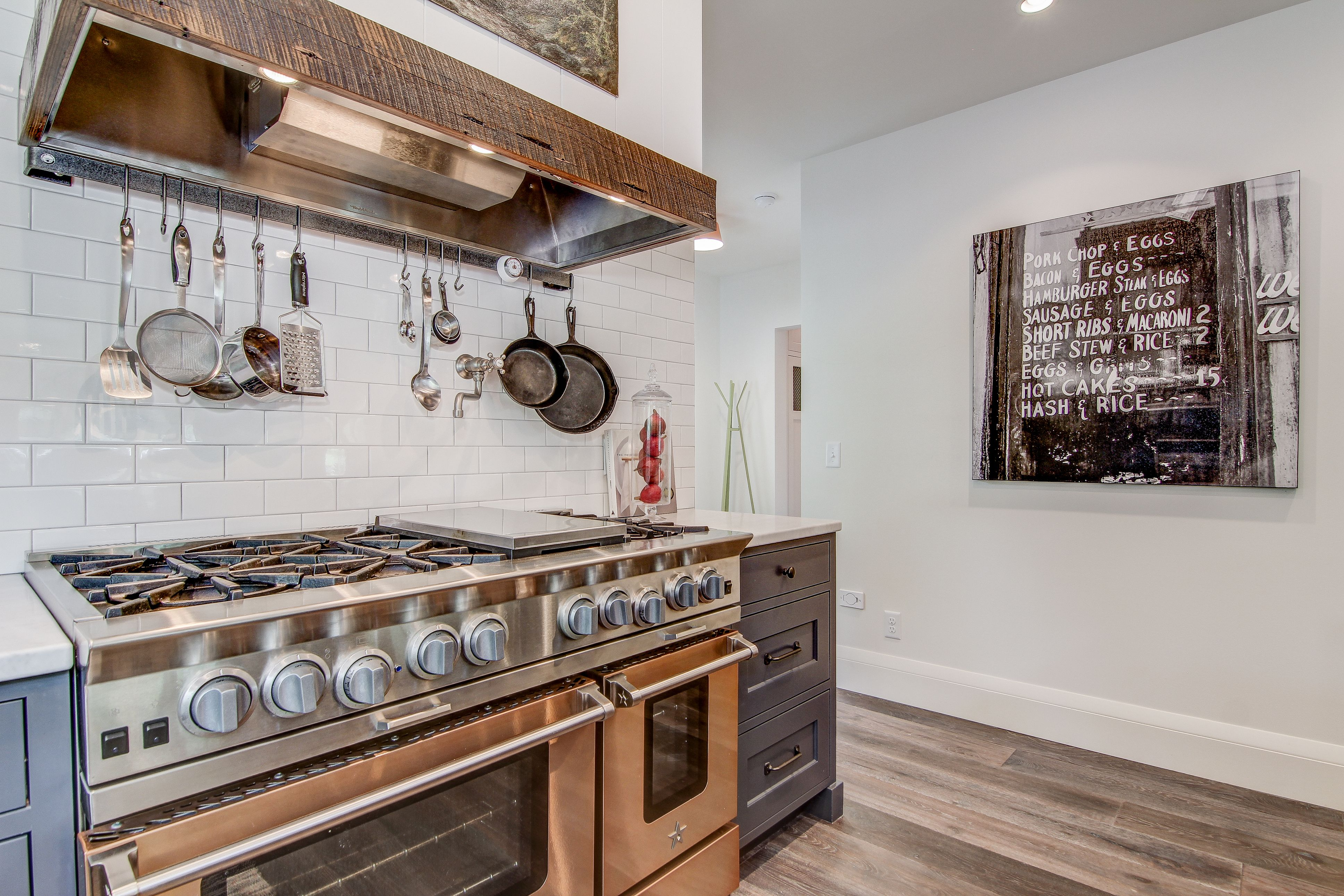 Duchateau riverstone thames duchateau pinterest subway tiles state of the art kitchen custom reclaimed wood hood subway tile and imported european floors dailygadgetfo Images