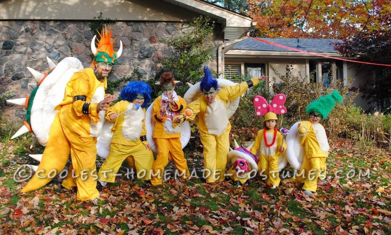 Koopa Family Costumes From Super Mario Bros Mario Bros Costume
