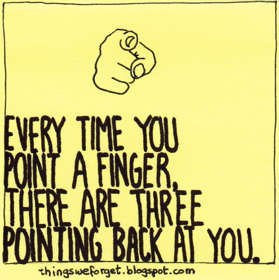 Image result for point finger three pointing back