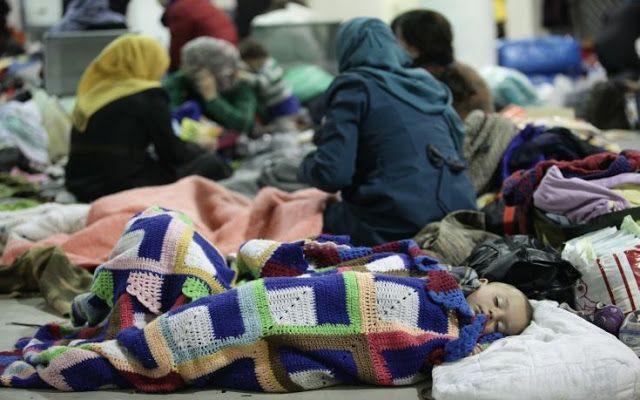 Tα πάντα όλα εδώ News !: Οι πρόσφυγες ευχαριστούν τους Έλληνες για την ανθρ...