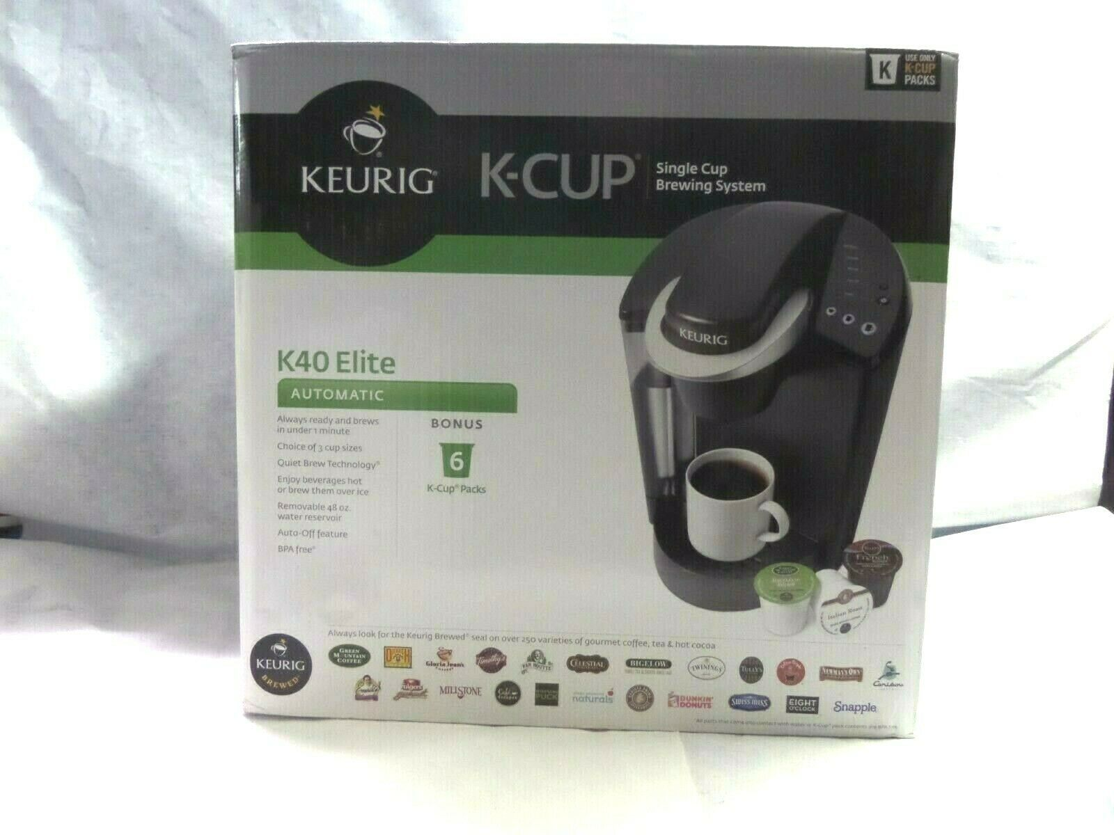 Details About Brand New Keurig K40 Elite K Cup Coffee Maker