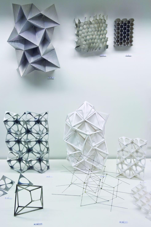 Photo of Materialforschung (ausgestellt im 032c Workshop) Barkow Leibinger