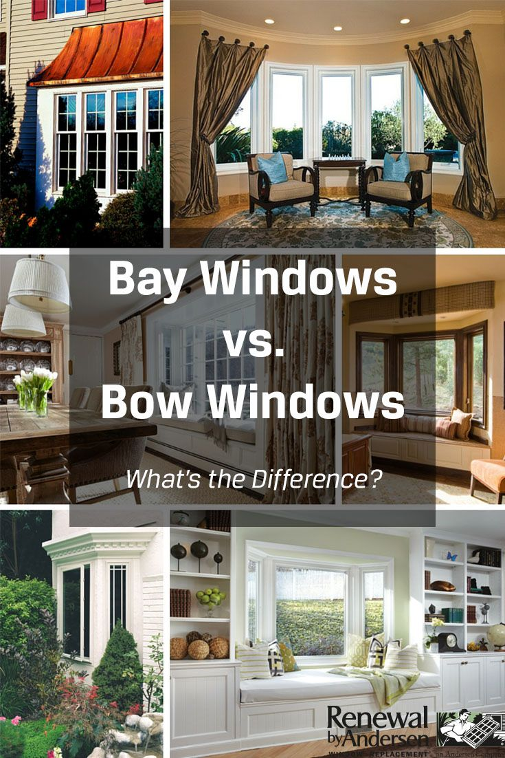 Difference Between Bay And Bow Windows : What s the difference between a bay window and bow