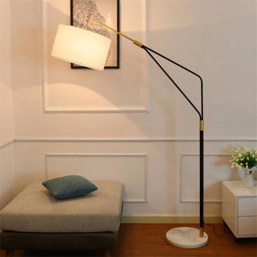 Modern Led Floor Lamp Fishing Standing Lamp Creative Light Fixtures For Living Room Bedroom Study Home In 2020 Floor Lamps Living Room Lamps Living Room Standing Lamp
