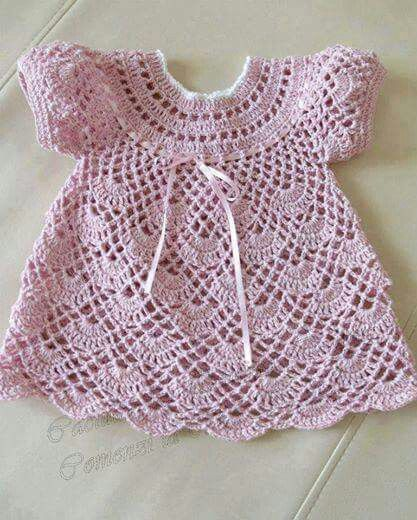 how can I get this pattern?   palomino6442@gmail.com      We have our first great grand daughter and I would like to make this for her.  Name Ava Grace #vestidosparabebédeganchillo