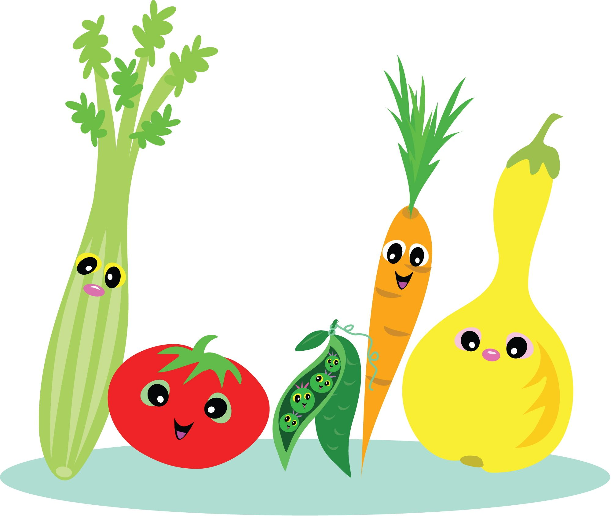 Healthy Food Cartoon Clip Art How To Make Vitamins Work