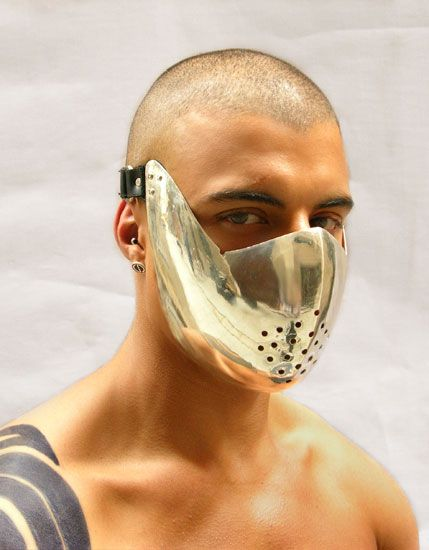 Manuel Albarran S Metal Couture Fashion Mask Futuristic Fashion Mask
