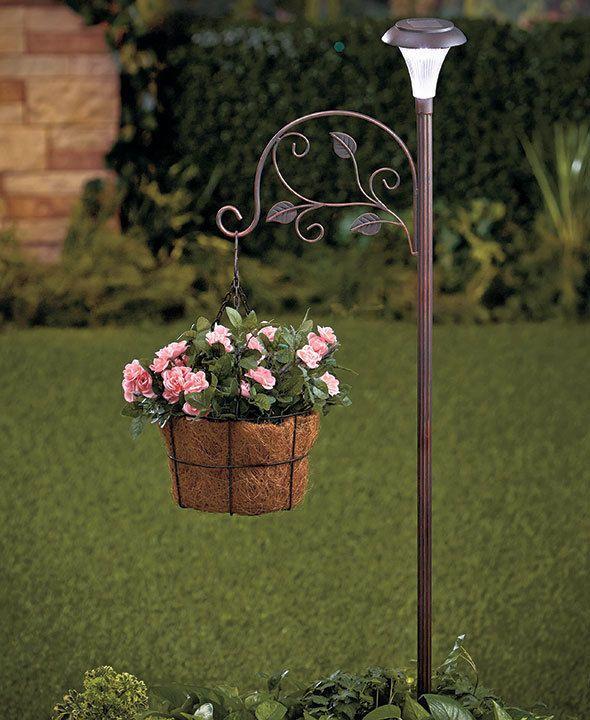 Outdoor Shepherd Hooks Plant Hook Garden Stake Plant Stand Hanger Tool