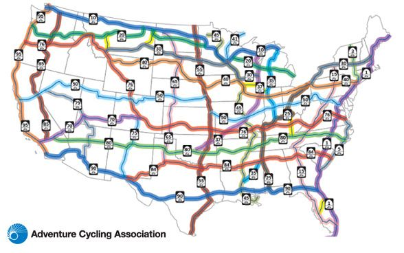 Worksheet. US Bicycle Route System campaign usbrs adventurecycling