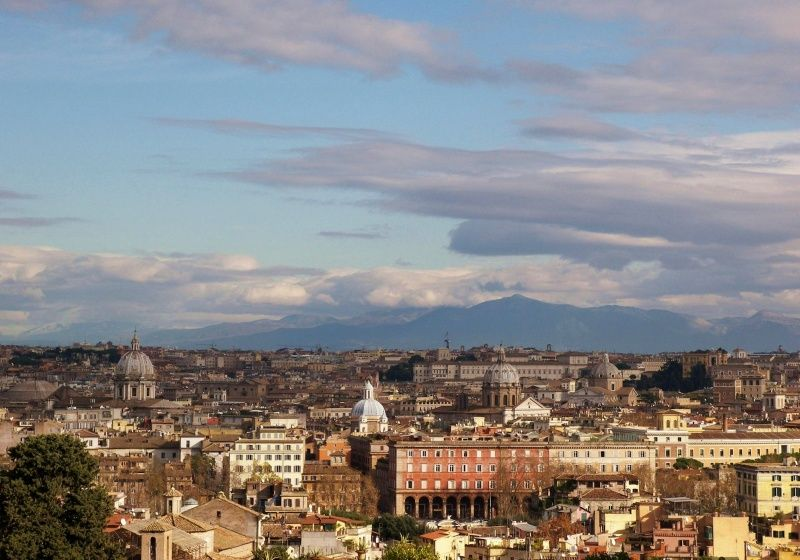 9 #spots to #admire #rome\'s beauty. This is the #terrazza #del ...