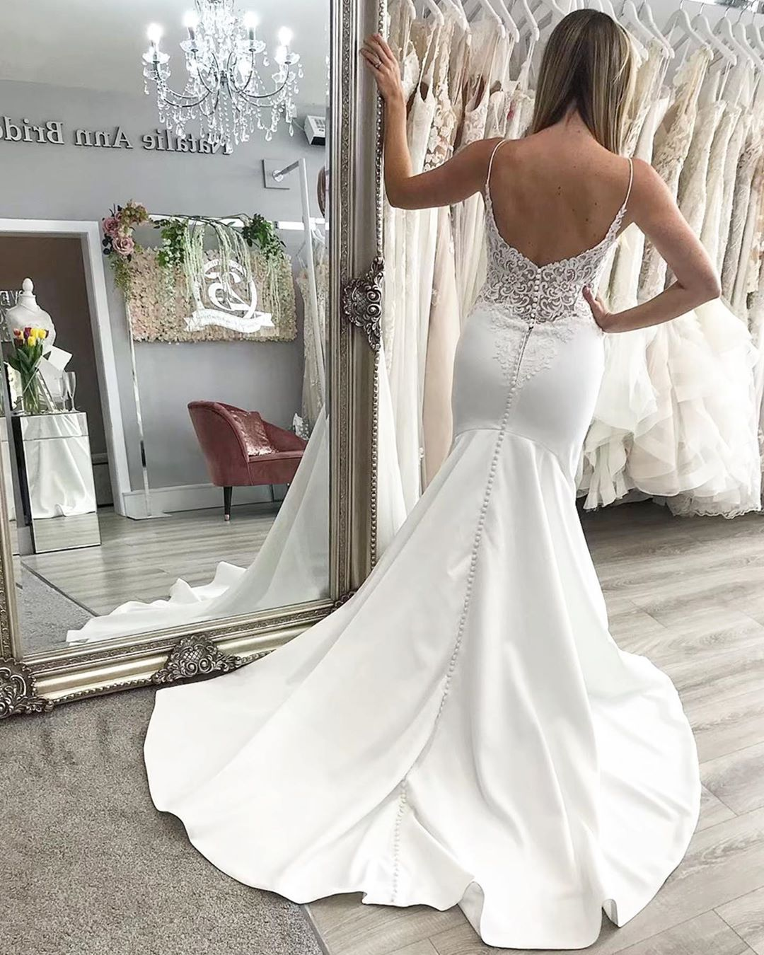 All About The Back Details Pepper Style 6901 Morilee