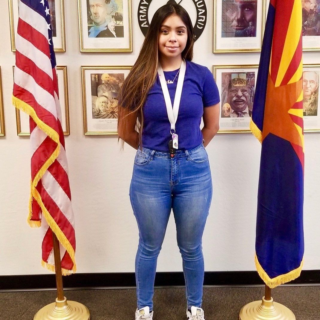 Welcome To The Nationalguard Private Anaya Eliana Has Had Big Month Graduating From Mountain Mountain View High School Education And Training Battalion