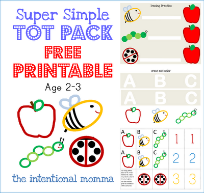Toddler Preschool Homeschool Simple Easy Two 2 Three 3