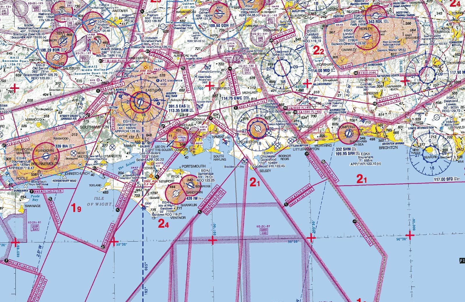 VFR Aviation Map Maps Drawings Pinterest Aviation - Class g airspace map
