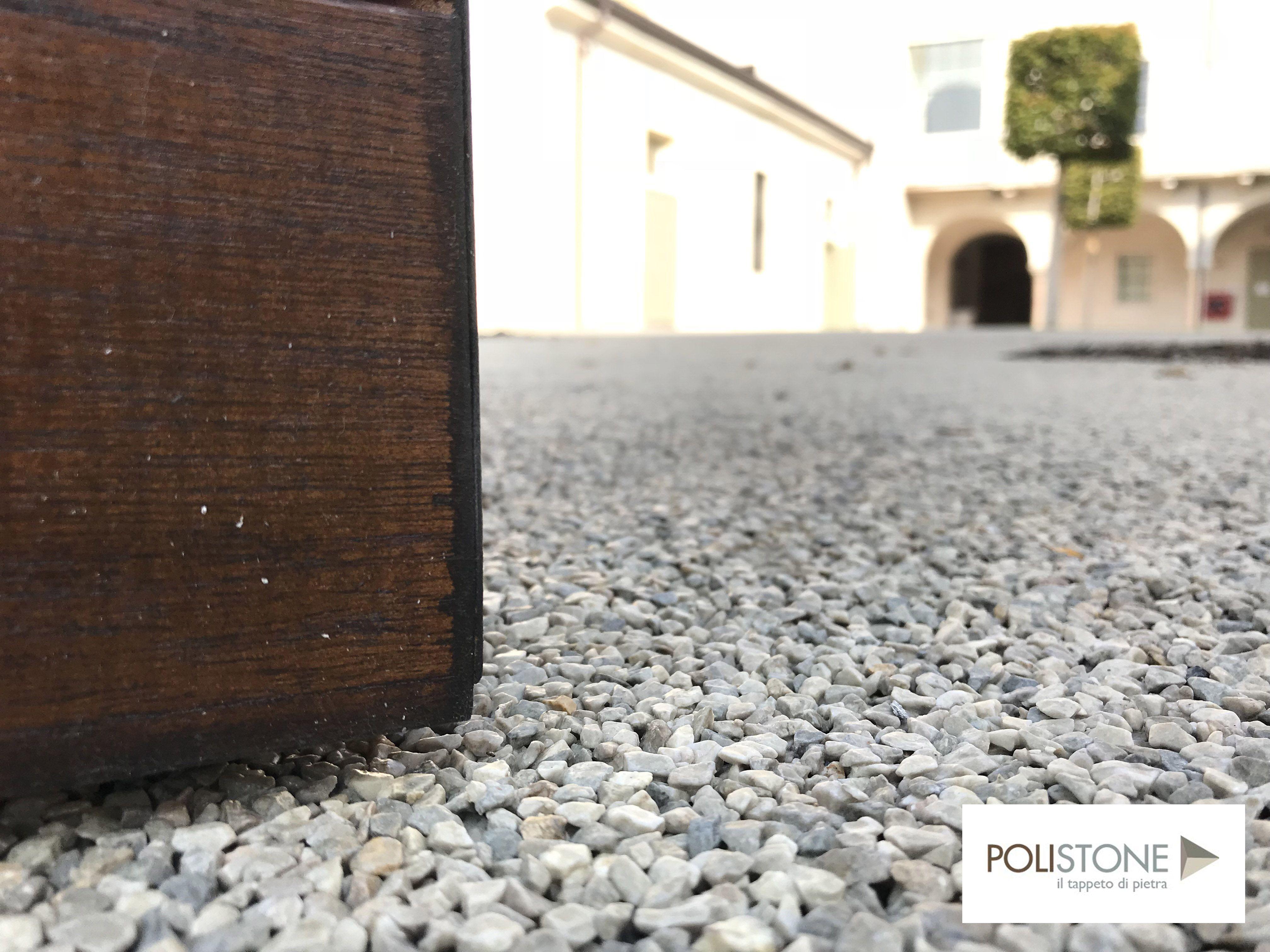 Resin bound pavimento in resina per esterno drenante