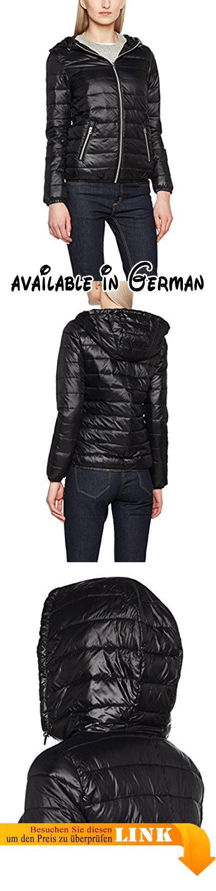 TOM TAILOR Denim Damen Jacke Padded Jacket Schwarz (Black 2999), 34  (Herstellergröße 1d1071dc4d