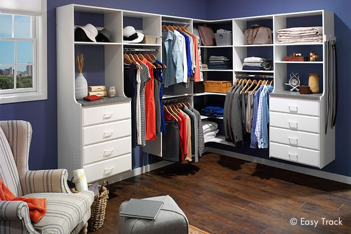 17 Best images about Closets on Pinterest | Cherries, Flexible furniture  and Corner shelves