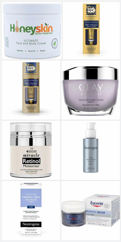 10 Best Facial Night Creams Retinol moisturizer, Night