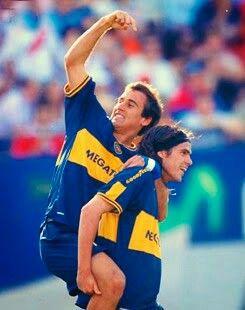 Que dupla. Palacio y Gago.
