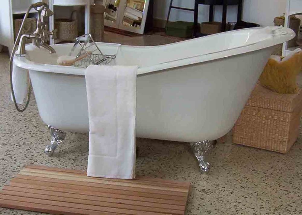 Details About 67 X30 Cast Iron Claw Foot Slipper Bath Tub Bathtub